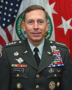 Official photo of General David Howell Petraeus, USA Commander, U.S. Central Command
