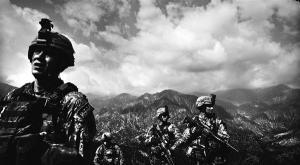 U.S. soldiers on a 14-hour patrol in eastern Afghanistan (Eros Hoagland /Redux)